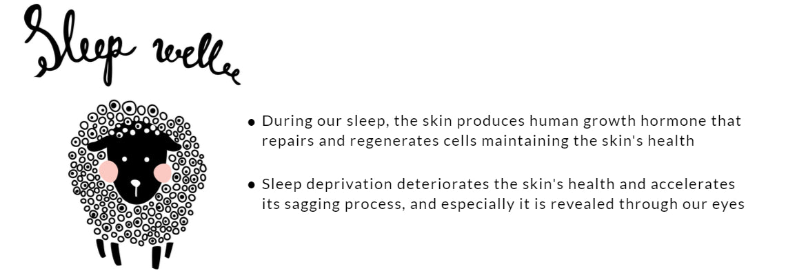 sleep well to maintain skin's health
