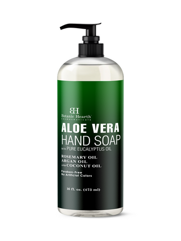 Aloe vera hand wash botanic hearth