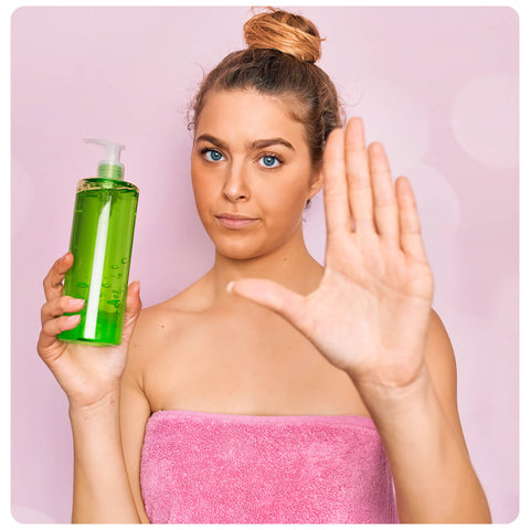 Avoid Washing Your Hair More Than Twice
