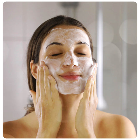 face wash gentle on the skin