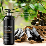 100% pure activated charcoal conditioner
