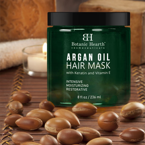 100 % pure argan oil hair mask