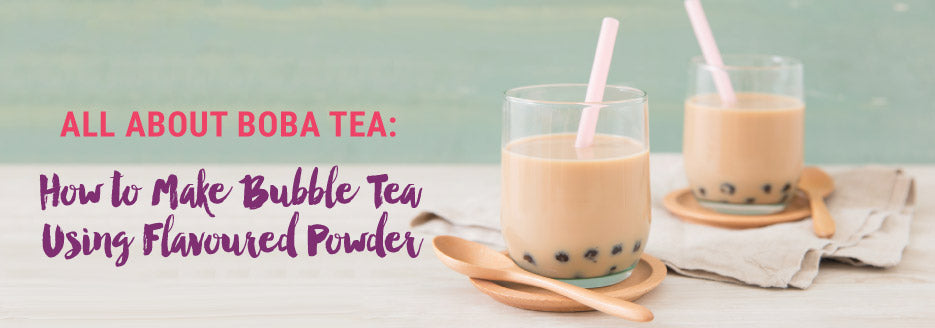 How to Make Bubble Tea Using Flavored Powder