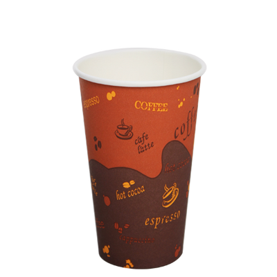 16oz Paper Hot Cups – Generic (90mm)