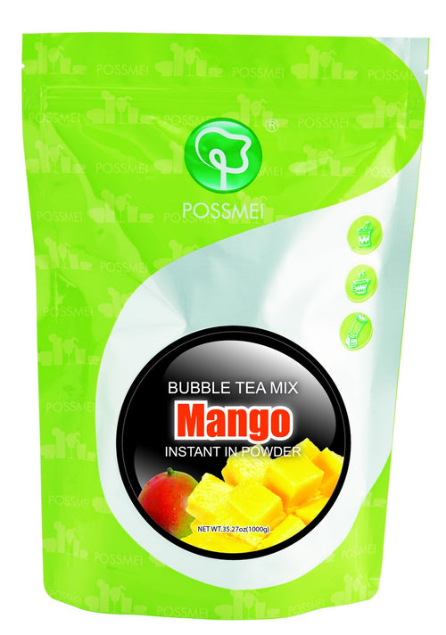 Mango Boba Bubble Tea Powder Mix