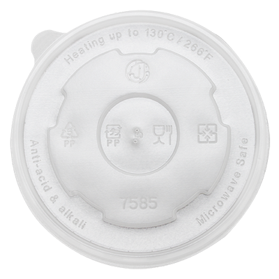 20oz PP Food Container Flat Lids (127mm)