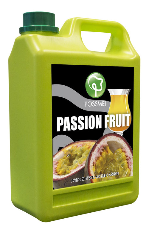 Passion Fruit Boba Bubble Tea Syrup