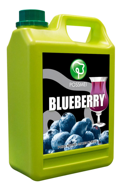Blueberry Boba Bubble Tea Syrup