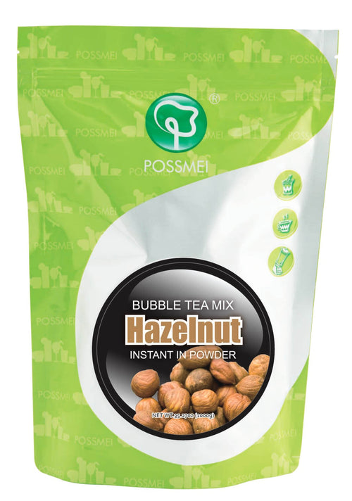 Hazelnut Boba Bubble Tea Powder Mix