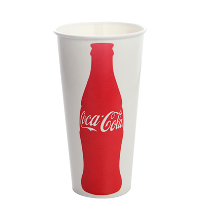 22oz Paper Cold Cups- Coca Cola (90mm)