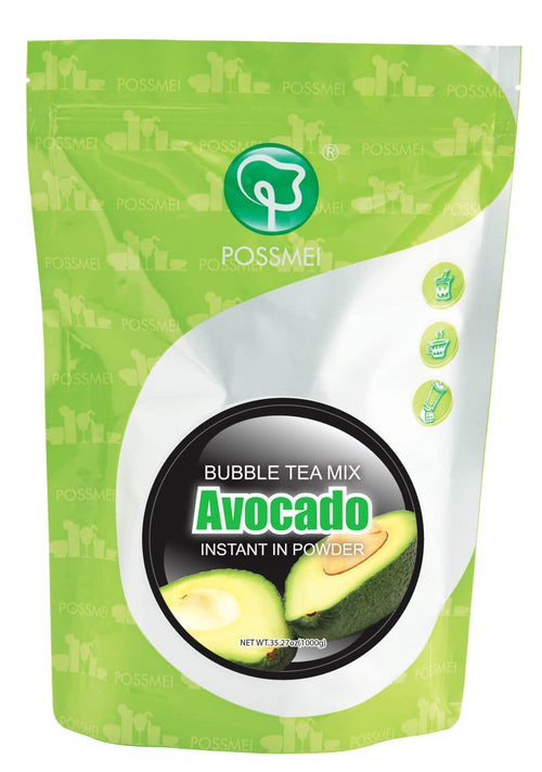 Avocado Boba Bubble Tea Powder Mix