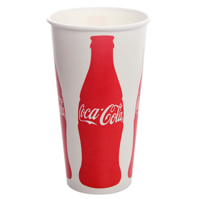 32oz Paper Cold Cups-Coca Cola (104.5mm)