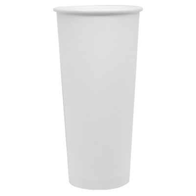 24oz Paper Hot Cups – White (90mm)