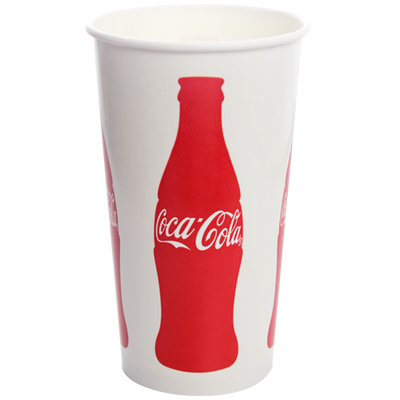 44oz Paper Cold Cups-Coca Cola (115mm)