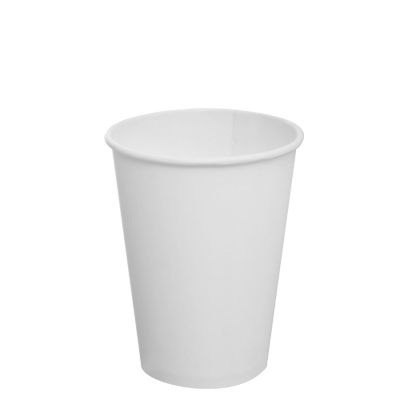 12oz Paper Hot Cups – White (90mm)