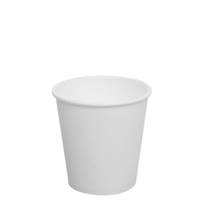 10oz Paper Hot Cups – White (90mm)