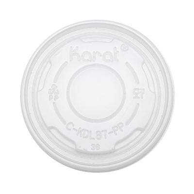 5oz PP Food Container Flat Lids (87mm)