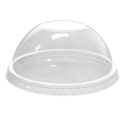 78mm PET Dome Lids – No Hole