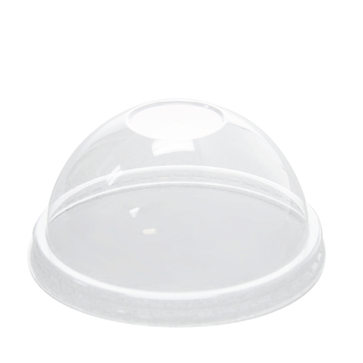 8oz PET Food Container Dome Lids (95mm)