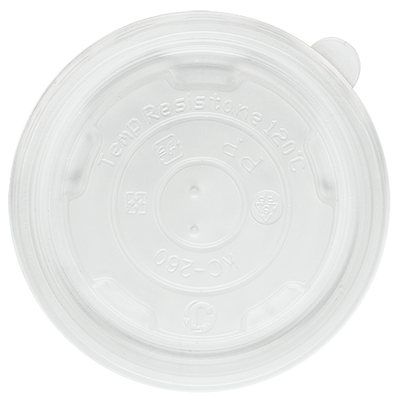 8oz PP Food Container Flat Lids (95mm)
