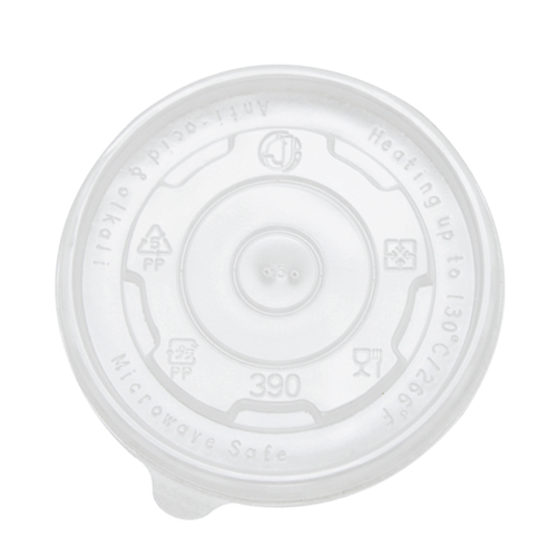 12oz PP Food Container Flat Lids (100mm)