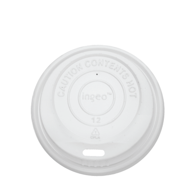 8oz Compostable Sipper Dome Lids (80mm)