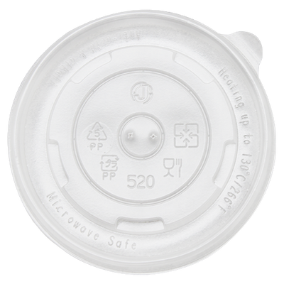 16oz Food Container Flat Lids (112mm)