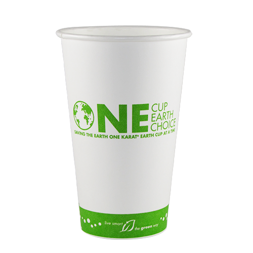 16oz Eco-Friendly Paper Hot Cups – Generic (90mm)