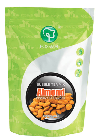 Almond Boba Bubble Tea Powder Mix