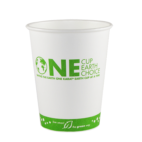 12oz Eco-Friendly Paper Hot Cups – Generic (90mm)