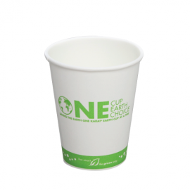 8oz Eco-Friendly Paper Hot Cups – Generic (80mm)