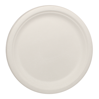 "Eco-friendly 9"" Bagasse Round Plate Case"