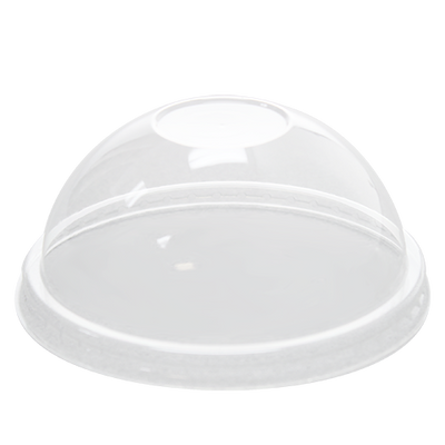 12oz PET Food Container Dome Lids (100mm)