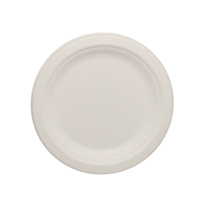 Eco-friendly 6″ Bagasse Round Plates