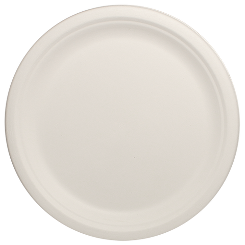 "Eco-friendly 10""x 8"" Bagasse Oval Plates Case"