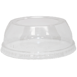 98mm PET Dome Lids – Wide Opening