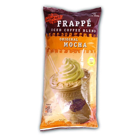 MoCafe No Sugar Added Vanilla Frappe Mix