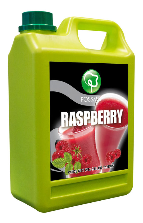 Raspberry Boba Bubble Tea Syrup