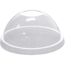92mm PET Dome Lids – No Hole