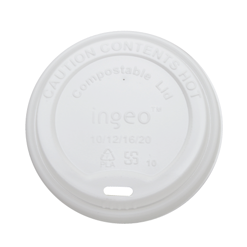 10oz – 20oz Compostable Sipper Dome Lids (90mm)