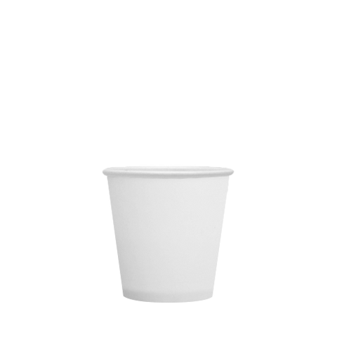 20oz Hot/Cold Paper Food Containers – White (127mm)
