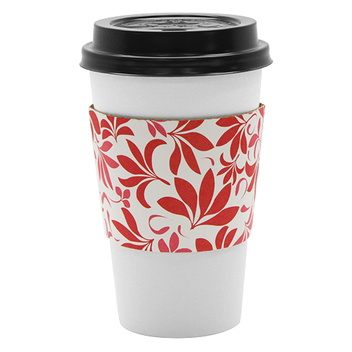 Traditional Cup Jackets – Fleur Red