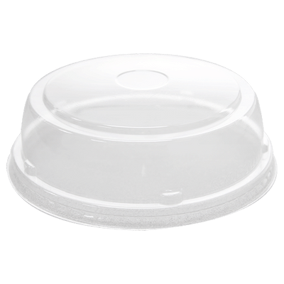 Dome lids for hot/cold container