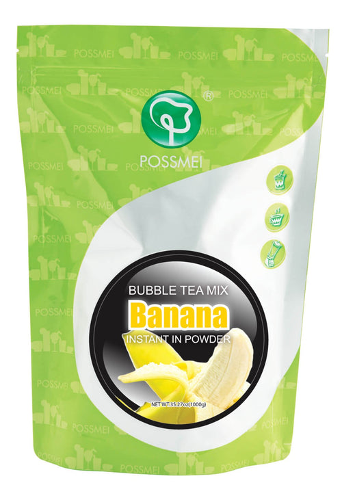Banana Boba Bubble Tea Powder Mix