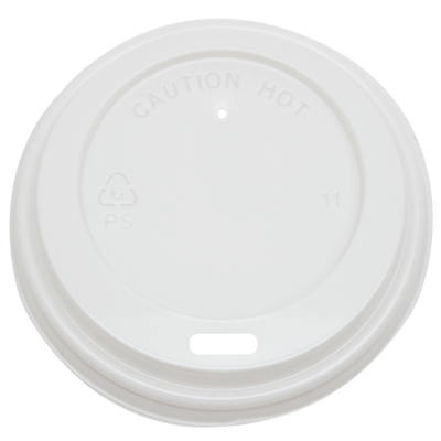 8oz Sipper Dome Lids – White (80mm)
