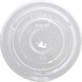 98mm PET Flat Lids