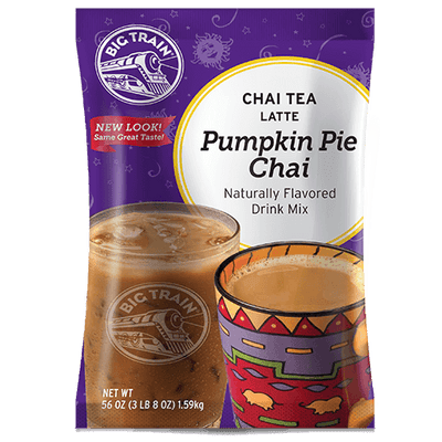 Big Train Pumpkin Pie Chai Tea Latte