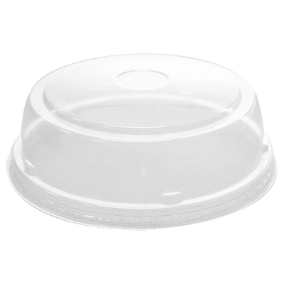 24-32oz PET Food Container Straight Dome Lids (142mm)
