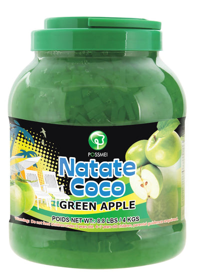 Green Apple Jelly Bubble Tea