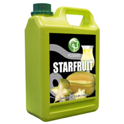 Star Fruit Boba Bubble Tea Syrup